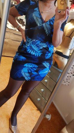 Asos Dress blue-black