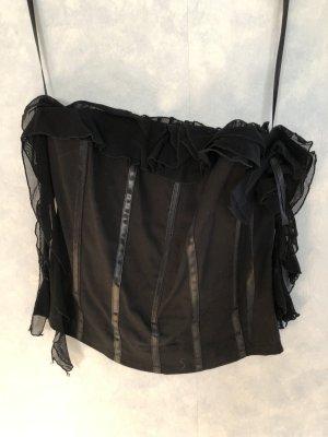 form e couleur Corsage zwart-zilver