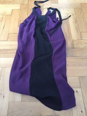 Sexy, lila Chiffon-Kleid, Größe 38, H&M