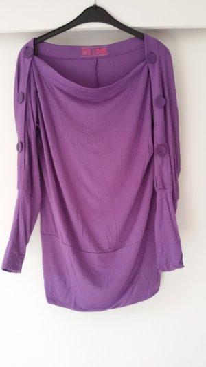 SEXY-Lila-Stretch-Kleid