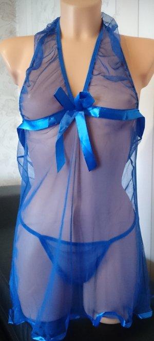 Set lingerie blu Poliestere