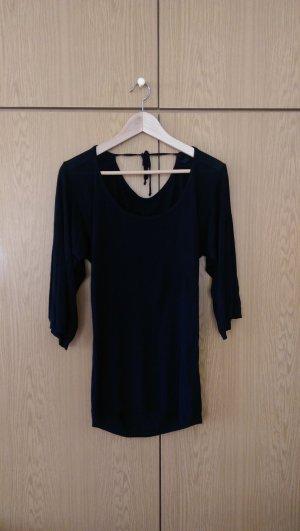sexy Long-Polluver - schwarz