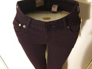 sexy low waist Jeans, aubergine
