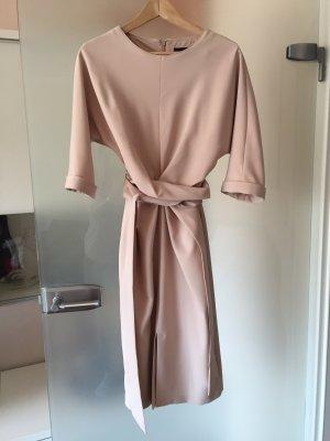 Sexy Midi-Kleid nude Phase Eight, Gr. 38, mit 3/5 Ärmeln