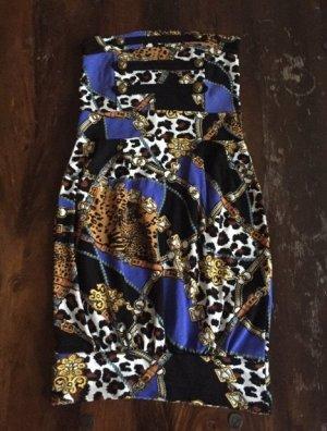 Melrose Vestido bandeau multicolor