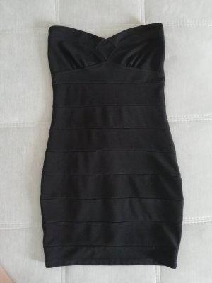 Ann Christine Mini-jurk zwart-zilver