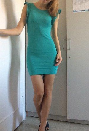 Sexy minikleid in Türkis von Berschka