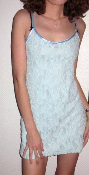 Robe courte bleu clair-bleu clair