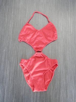 SEXY Neckholder Monokini Badeanzug Ibiza Blogger Fashion Bikini
