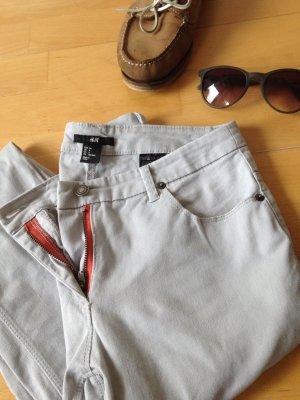 Sexy Nude Jeans H&M röhre
