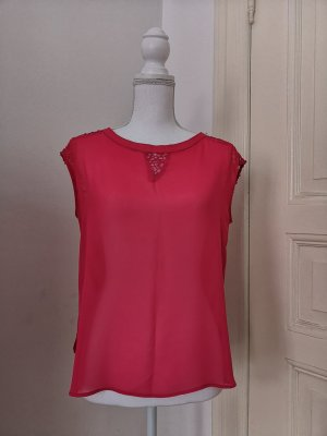 & other stories Bodysuit Blouse raspberry-red