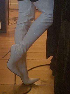 Sexy Overknees Stiletto Lack
