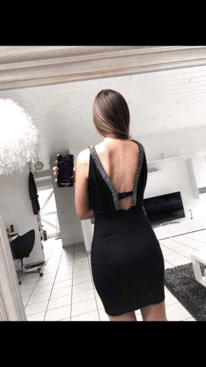Sexy partykleid rückenfrei mit Glitzer