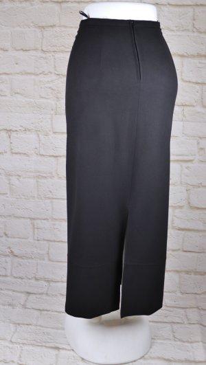 Sexy Pencil Skirt Maxirock Taifun sportive Größe S 36 Schwarz langer High Waist Rock