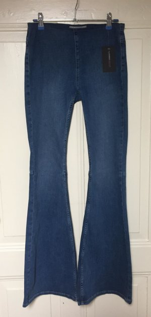 Free People Jeans a zampa d'elefante blu