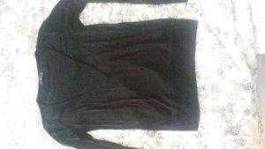 sexy Pullover mit transparentem V-Ausschnitt