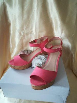 Dorothy Perkins Plateauzool sandalen veelkleurig