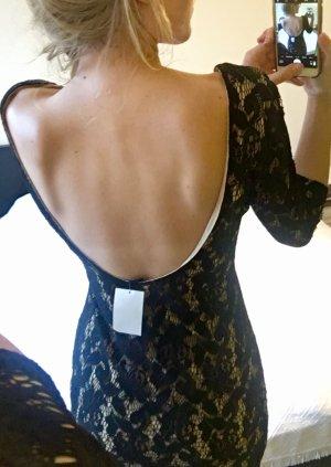 Sexy rückenfreies Kleid