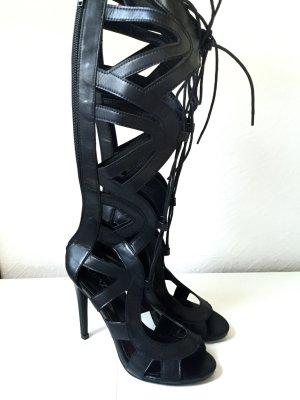 Sexy Schnür Stiefeln aus London! Neu
