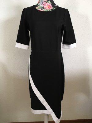 Sexy schwarz weißes Kleid von Rick Cardona