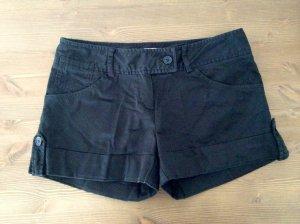 Sexy schwarze Hotpants