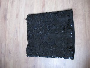 Sexy schwarzer Paillettenrock *NEU*