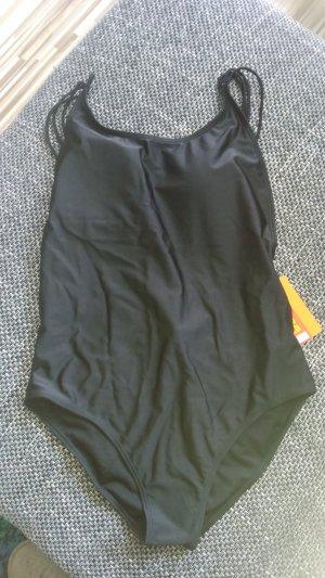 Sexy Schwarzer Rafinierter Badeanzug Gr.46-Neu-Tolle Rückenansicht