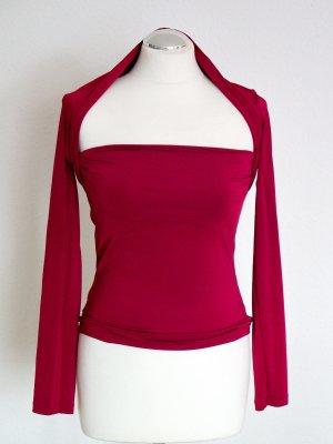 sexy Shirt, weich fließend & tollem Ausschnitt aus Kunstseide