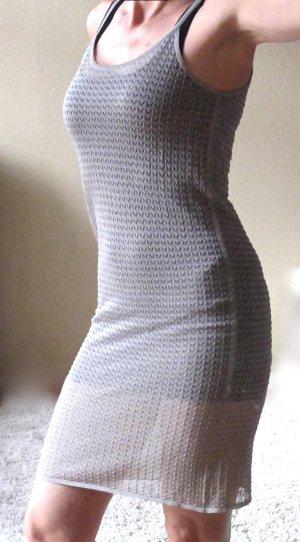 Sexy silber-graues Kleid von Stills (Stretch)