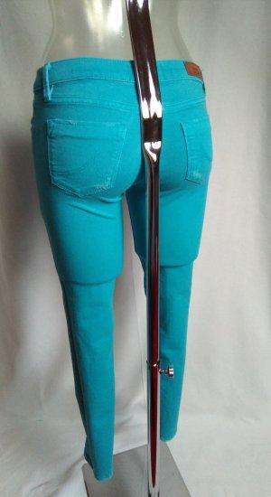 sexy skinny Jeans in schönem türkis! Neuwertig!
