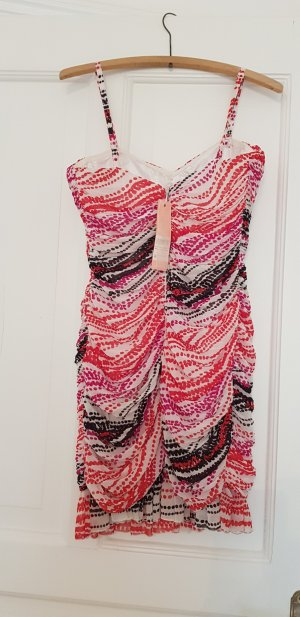Kardashian Kollection for Lipsy Vestido bustier multicolor Poliéster