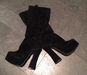 Sexy Stiefel aus Samt