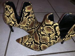 Zara Trafaluc Wedge Booties multicolored