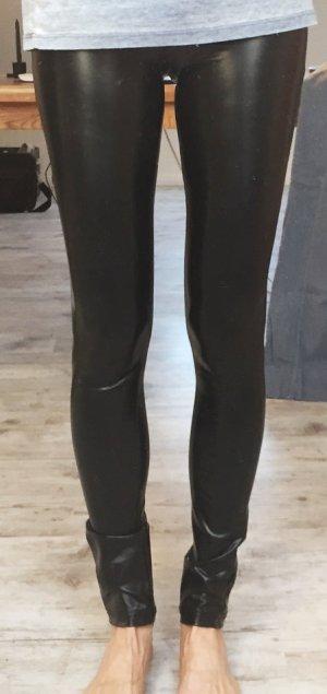 Sexy stretch Lackoptik Leggins Größe M/L