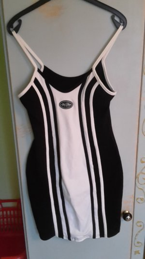 Mini Dress black-white
