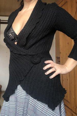 Kimono sweater zwart
