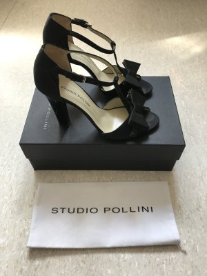 Sexy Studio Pollini High Heels aus Satin, Original Staubbeutel & Karton, NP 370€