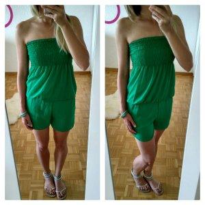 sexy stylischer jumpsuit overall summer bandeau beach spitze bluse kleid neu