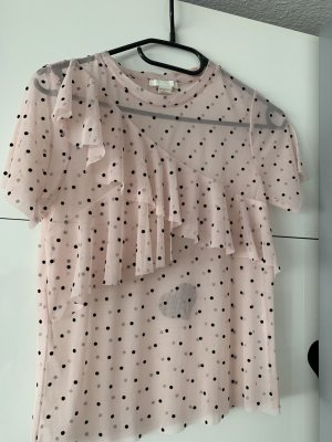 Blusa Crash color oro rosa