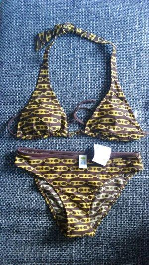 Buffalo Bikini zandig bruin-geel