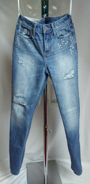 sexy used look high waist Jeans