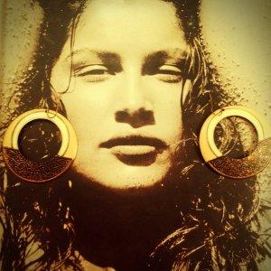 Sexy Vintage Hoop Earrings