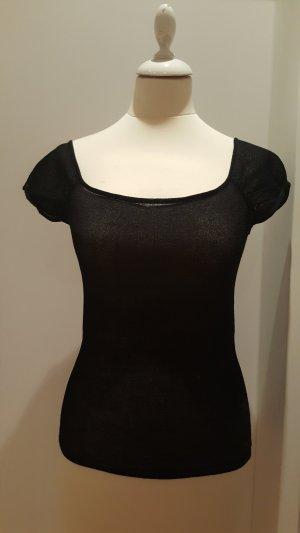 Vintage Gehaakte top zwart