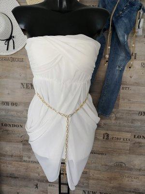 Bustier Dress white-oatmeal