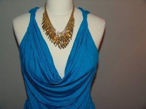 °°°Sexy Wasserfall Shirt, Top, H&M,M,blau,neuwertig°°°