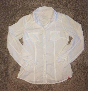 Sexy weiße Bluse edc Größe M