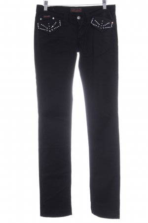 Sexy Woman Slim Jeans schwarz Casual-Look