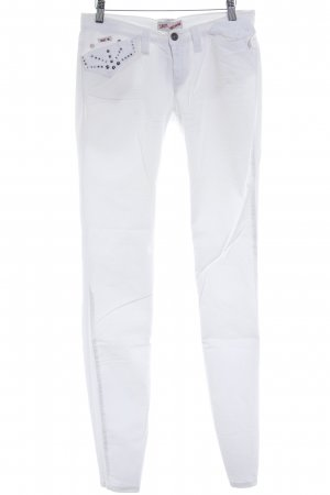 Sexy Woman Slim Jeans weiß Casual-Look