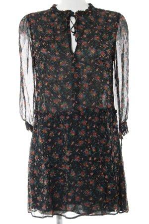 Sezane Blusenkleid Blumenmuster Casual-Look