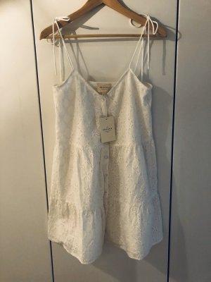 Sézane - Knöpfbares Kleid mit Trägern zum Binden